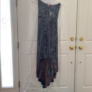 Sky Dresses - Authentic Sky Maxi Dress, High Low FEOFANA Maxi